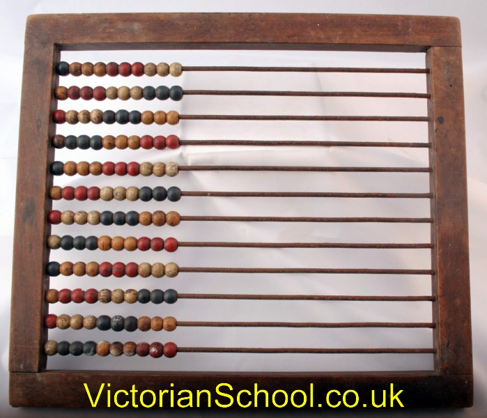 Victorian abacus